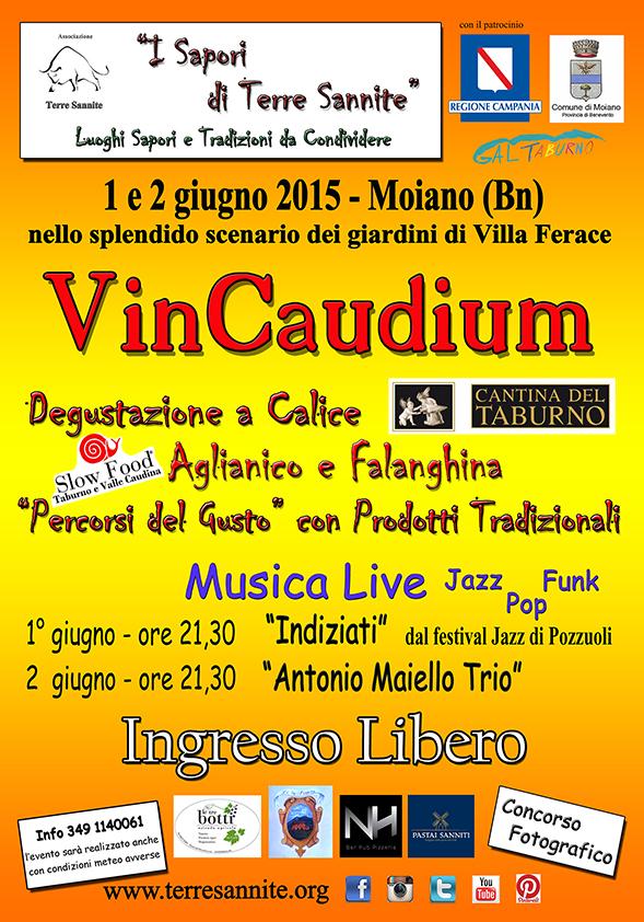 VINCAUDIUM TERRE SANNITE - 1-2 giugno 2015