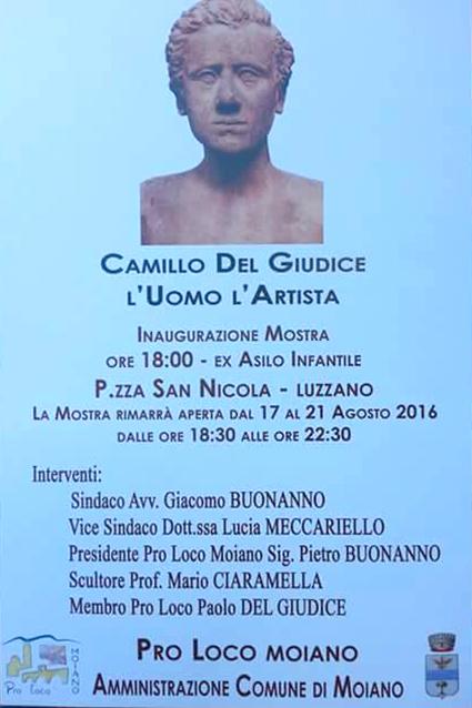 Luzzano di Moiano – Camillo Del Giudice – L'Uomo e L'Artista