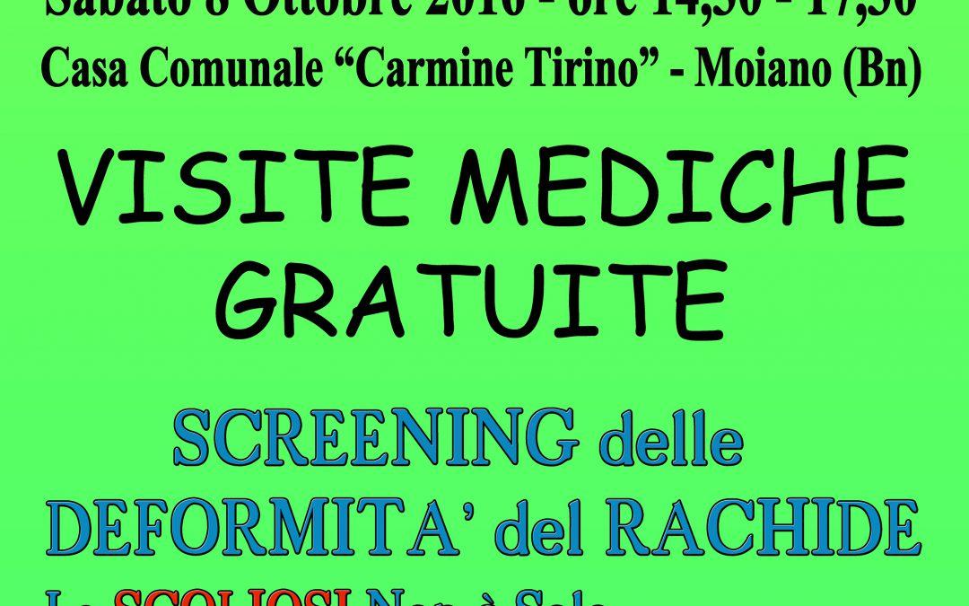 Moiano – Associazione Carmine Tirino – Visite Mediche Gratuite