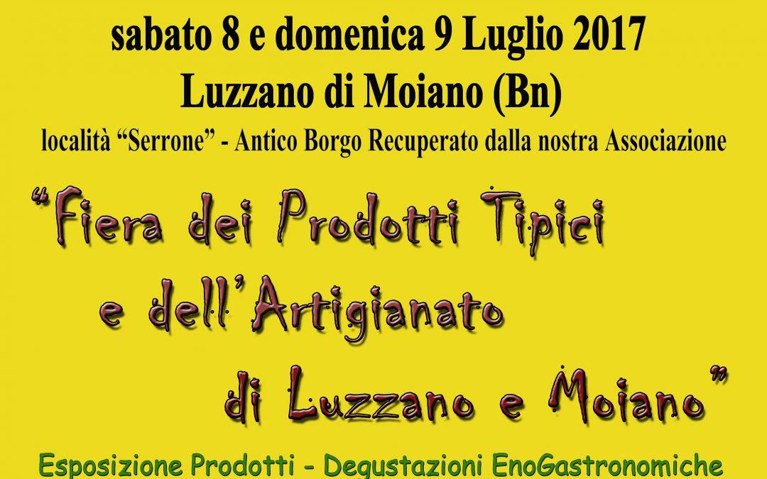 Luzzano Moiano – Fiera Prodotti Tipici Artigianato